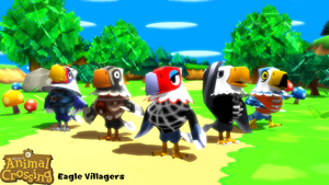 (MMD Model) Eagle Villagers Download by SAB64