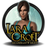 Lara Croft and the Guardian of Light Icon v2 by Kamizanon