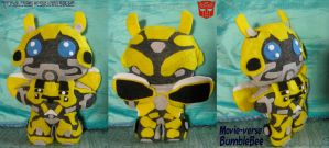TF: Bumblebee (Movieverse) Plushie by Guiled-Dragon