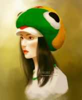 KERORO CAP by mascerrado