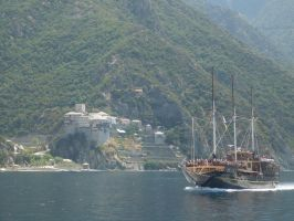 Mount Athos cruise by Vempje