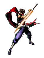 Strider Hiryu by geos9104