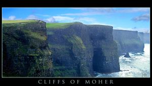 Cliffs of Moher by Tamakin