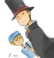 professor layton by mily9