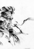 Solid Snake - Metal Gear Solid by Megaman-EX