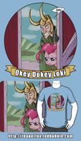 Okey Dokey Loki shirts! by reaperfox