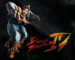 Street Fighter IV Hawk by ManeFunction