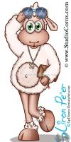 Lilly the Sheep 15 (Studio Comx 2013) by LPDisney