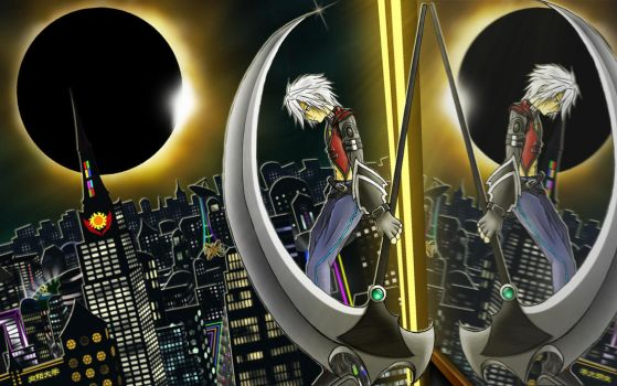 The Eclipse Hunter by dahlys