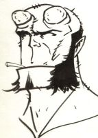 Another Hellboy by wheels9696