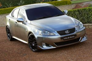 Lexus IS250 Chrome Paint by TheCarloos