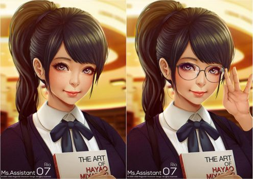 Ms Assistant Rio Remastered by magion02