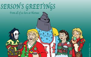 Season's Greetings 2013 by NyQuilDreamer