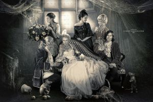 Mystical Family by CindysArt