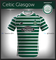 Celtic Glasgow home by ToonsCio