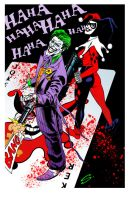JOKER HARLEY colors Halftonetif copy by stevescott