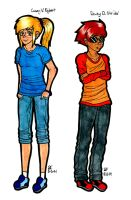 ~+ Casey V. Egbert and Dewey D. Strider +~ by Zalehard13