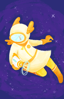 space explorer whoooo by quirkessence