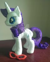 Rarity plush by LavenderExtract