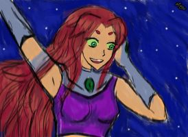 Starfire by lesliemint