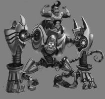 mecha ape by salahh