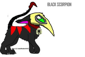 Black Scorpion by Me-MowTheCat