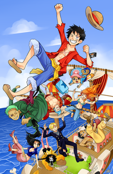 One Piece by KaiTexel