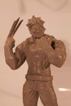 Wolverine Model Clay 2 by GuilRai7