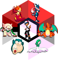 Let me show you... my Kalos team! by NkoGnZ