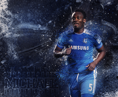 Michael Essien Wallpaper by XB21