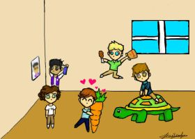 One Direction by VookieCakes