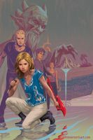 Buffy the Vampire Slayer cover S10 TPB6 by StevenJamesMorris