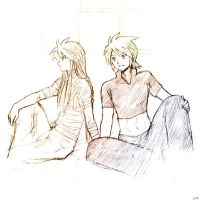 Luke and Asch by Lizeth
