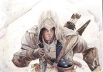 connor kenway by Bubbeeelz