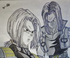 Future Trunks by WatersDBZArt