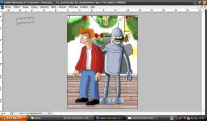 WIP- Fry and Bender by dada0016