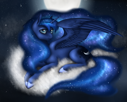 Princess of the Night by gladPotatOS