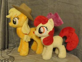 Apple Family Sisters by WhiteDove-Creations