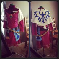 Skyward Sword Zelda -WiP- by RikkuGrape