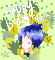 Happy Birthday 9Fruits by Voiii
