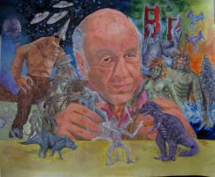 Ray Harryhausen - Man Who Created Monster by smjblessing