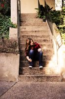 Friend and Stairs by Monkeyboy41