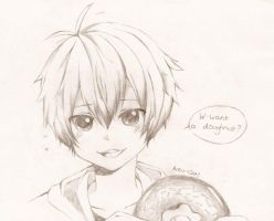 Want A Doughnut? by Anzu-cat
