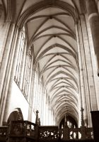Inside The Magdeburg Cathedral by ErinM2000