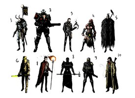 characters by Myhate