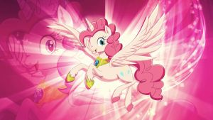 Princess Pinkie WP by LilaPudelPony