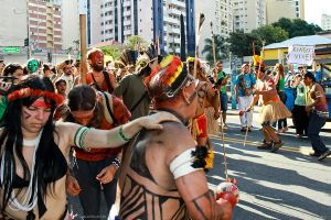 Act Against Belo Monte Hydroelectric Dam - 05 by luiscds