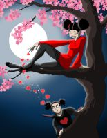 Pucca n Garu night by axemeagain