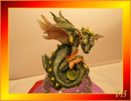 Small Green Flying Dragon Mod by Taures-15