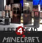 Left 4 Dead papercraft Francis by Notason89